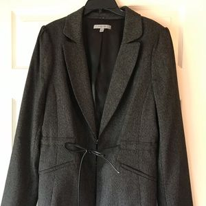 Classiques Entier Fitted Tie Waist Suit Jacket
